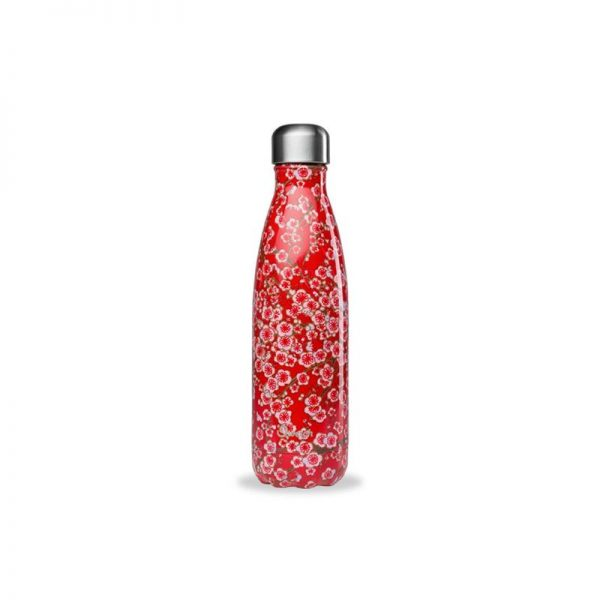 Bouteille isotherme Fleurs 260ml QWETCH