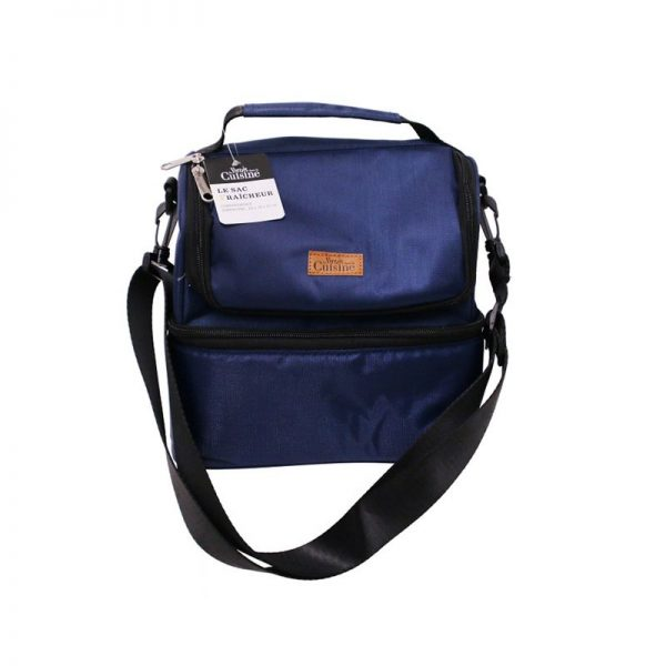 Lunch bag à compartiment Bleu